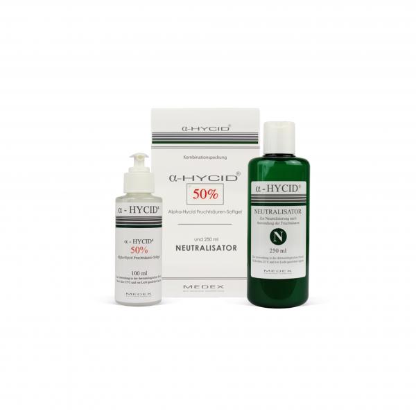 ZESTAW Żel a-Hycid®70% pH 0.6  + Neutralizator 250ml  (tylko z uprawnieniami)